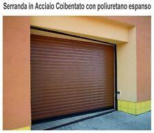 SERRANDA ACCIAIO  STECCA STANDARD MOTORIZZATA - CHIUSURA GARAGE E NEGOZI