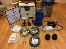 Zenit GR Blue Professional Submersible Pumps with Dual Controller box