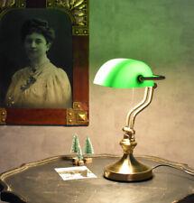 Tischleuchte Bibliothekslampe Bankerlampe Schreibtischlampe Antik Büro Leuchte