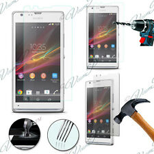 2 Films Toughened Glass Protection Sony Xperia SP M35h C5302 C5303 C5306