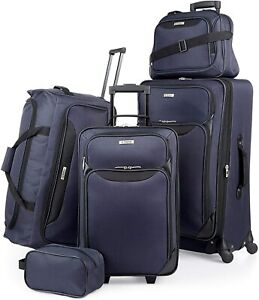 Tag Springfield III 4-Pc. Navy Blue Luggage Set 6019