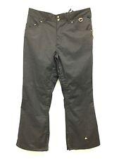 New Allyance Men Ski Pants Inuslated 8000 MM Waterproof Snow Black Polyester XXL
