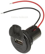USB 12v/3a CARICABATTERIE PRESA-installazione Power BARATTOLO PER MOTO, AUTO, CARAVAN