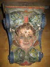 Engel Podest Renaissance Barock Sockel Holz 17. Jhrd. TOP !!!