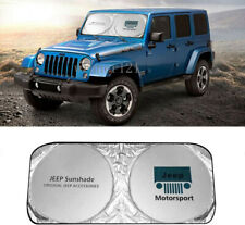 Car Sun Shade Windshield Visor Cover Block UV Rays Sun Visor Protector for JEEP