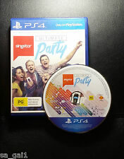 SingStar Ultimate Party (Sony PlayStation 4, 2014) PS4 Game - FREE POST
