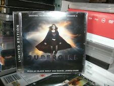 SUPERGIRL ,TELEVISION SOUNDTRACK,SEASON 3,SIGNED BY BLAKE NEELY,AND DANIEL CHAN