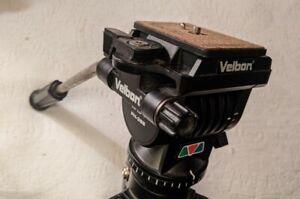 Velbon DV-7000 Tripod + Vel-flo 9 PH-368 Fluid Head with Quick Release