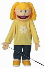 "Silly Puppets 25"" Katie Peach Girl Full Body Ventriloquist Style Puppet"