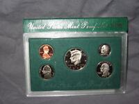 1998-S U.S. Mint Clad Proof Set (5 coins), Choice Proof,