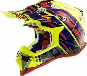 LS2 Subverter MX470 Bomber MX Offroad Helmet Hi-Vis Yellow 2XL