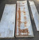 """48 Full 7'- 8' 3-12""""x8' Sheets Barn Tin Roofing, Corrugated Reclaimed Salvage,"""