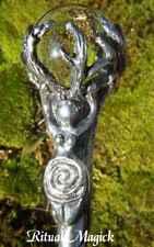 Spiral Goddess Wand - Clear Quartz (Willowroot Wand)
