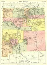 New Mexico Antique North America County Maps for sale   eBay
