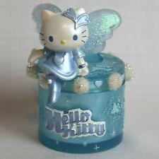 HELLO KITTY Sanrio Blue Angel Trinket Jewelry Box 1976 2002 - RARE