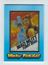 2018 Topps Wacky Packages Patch Card MP-3 MAD MUTT FURRY ROAD limited ed. #65/99