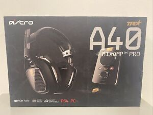 Astro A40 TR Wired Gaming Headset + MixAmp Pro TR for PS4/Xbox One/PC - Open box