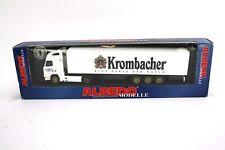 "Albedo Volvo Sattelzug ""Krombacher"" 320076 1:87 / H0 OVP NEU NOS"