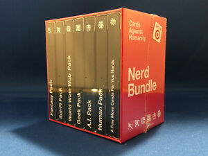 Cards Against Humanity Nerd Bundle Target Exclusive