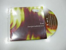 LUZ CASAL CD SINGLE EUROPE INESPERADAMENTE 2000 PROMO