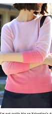 lovely Boden pink ombré 100% cashmere jumper size 8 or size 10