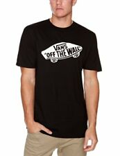 VANS T-shirt Men VANS OTW Vjayy28 Black White XL