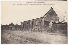 PROYART - Somme - Village Ruins Framerville St - France - World War One postcard