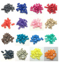 "10 50 100pcs 3/8"" 10mm Curved Side Release Plastic Buckle for Paracord Bracelets"