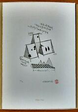 AZUMA KENGIRO, Acquaforte originale, esemplare 147/300 numerato e firmato