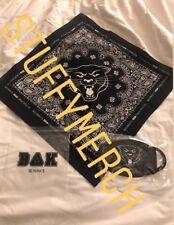 BEYONCE OFFICIAL 2018 COACHELLA BAK PANTHER Bandana Mask SET BEYCHELLA OTR TOUR