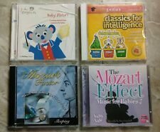 LOT OF CD'S Wholesale: Baby Mozart - Classics For Intelligence - Mozart Factor..