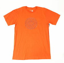 Nixon Mens Lens Flare Short Sleeve T-Shirt Red Pepper M New