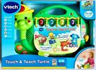 VTech Touch  Teach Turtle Teaches Letters Numbers Shapes Animals Music Sounds