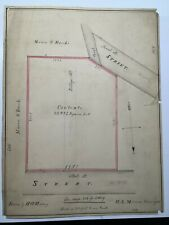 Antique Original W. A. Mason Plan