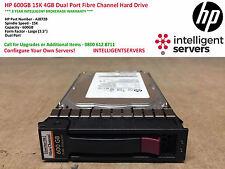 HP 600GB 15K 4GB Dual Port Fibre Channel Hard Drive AJ872B / 495808-001 / AJ872A