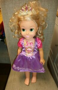 """Disney Princess Rapunzel 20"""" Doll Tollytots with music from Tangled"""