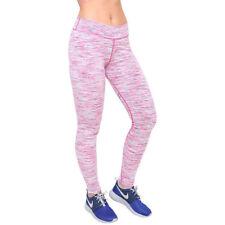 Vêtements de fitness rose pour femme, taille XS
