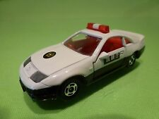 TOMICA 15 NISSAN FAIRLADY 300Z Z32 RHD  - JAPAN POLICE - WHITE BLACK 1:59 RARE