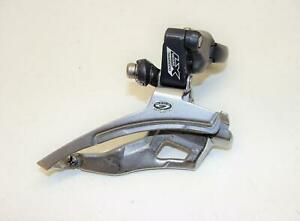 ~ Shimano Deore XT FD-M571 Mega 9 Speed Front Derailleur 34.9 Top Pull ~