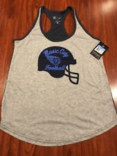 Nike Women's Tennessee Titans Football Helmet Tank Top Jersey Shirt Medium M NFL