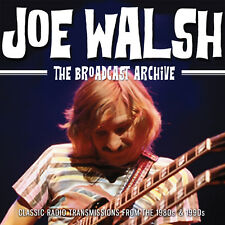 JOE WALSH of THE EAGLES New Sealed 2019 LIVE 1980s & 90s CONCERTS 3 CD BOXSET