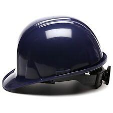 PYRAMEX HARD HAT CAP STYLE WITH 4 POINT RATCHET SUSPENSION, DARK BLUE