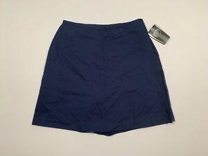 NEW Women's NIKE Golf Size 8 Navy Skirt Skort Cotton