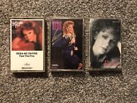 Lot Of 3 Reba McEntire Cassettes. VG Condition See Description & Pictures