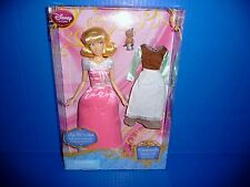 Disney Store Singing Cinderella Doll - 2 Dresses/Gus on Thimble - Classic Coll.