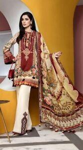 Women Clothes Pakistani Salwar Kameez Ready Made Designer Asian Suit Lilen Dress