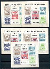 1937.ASTURIAS Y LEON.NE17AL/21AL .NUEVOS. CAT FILABO