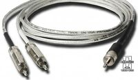 Analysis Plus Premium iPod Mini Stereo to RCA Cable - Length 3 Meters
