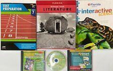 Grade 7 Curriculum 5 Subject Student Bundle Homeschool 7th Kit Homeschooling