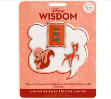 Disney Wisdom August Pin Set Preorder Bambi Thumper